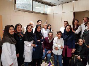 جشن بازنشستگی آقای بابک بلاری کارشناس تصویربرداری: عکس شماره 2 / 5