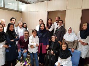 جشن بازنشستگی آقای بابک بلاری کارشناس تصویربرداری: عکس شماره 3 / 5