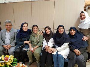جشن بازنشستگی آقای بابک بلاری کارشناس تصویربرداری: عکس شماره 5 / 5